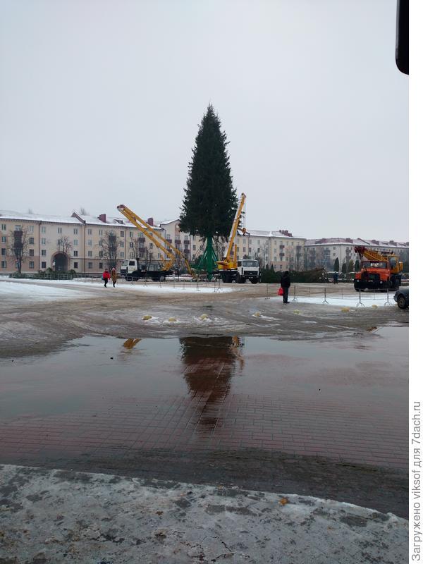 ...tombe la neige - это не про нас, у нас снег тает, тает