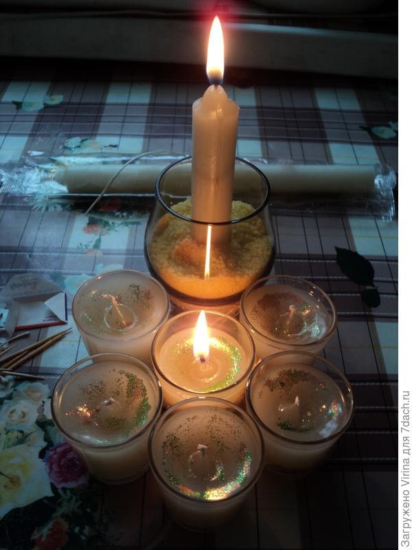 свеча в подарок
