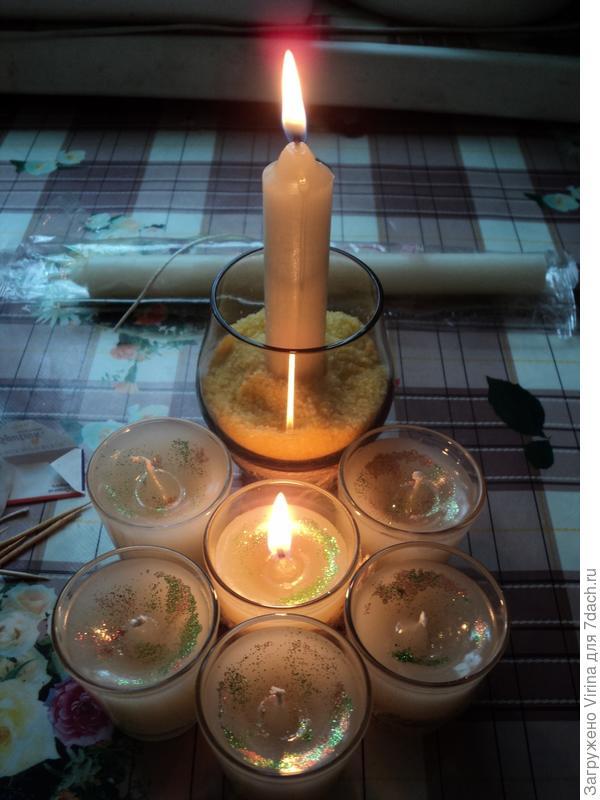 свеча готова