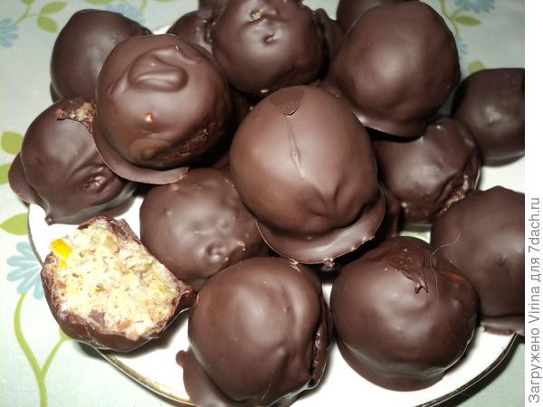 Полезные конфеты. Рецепт конфет из орехов с лимоном и сухофруктов. Пошаговые фото