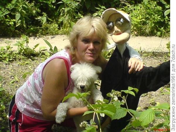 Моя Клотильда, мама каждый раз вздрагивала...видя её на огороде...)))