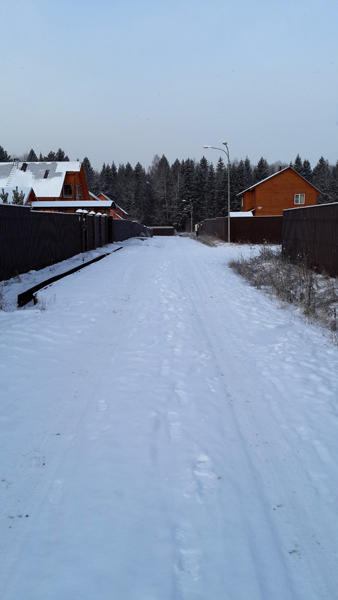улица зимой
