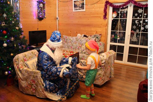 Дед Мороз и гномик