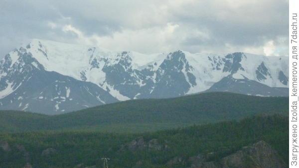 горы в июле!