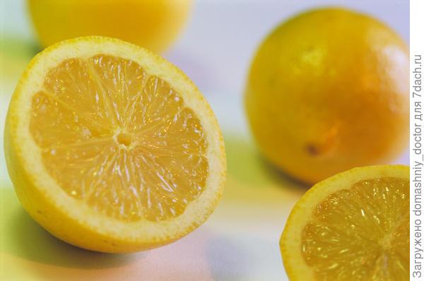 лимон, витамин С