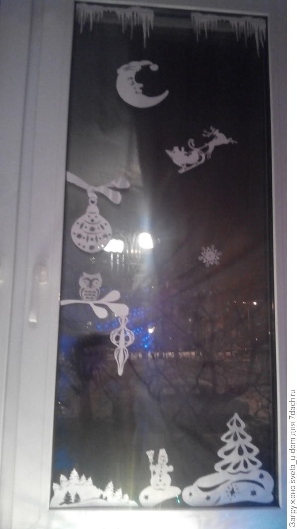 Сказка на окнах