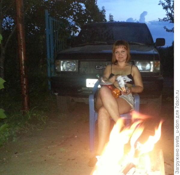 Прекрасный летний вечер
