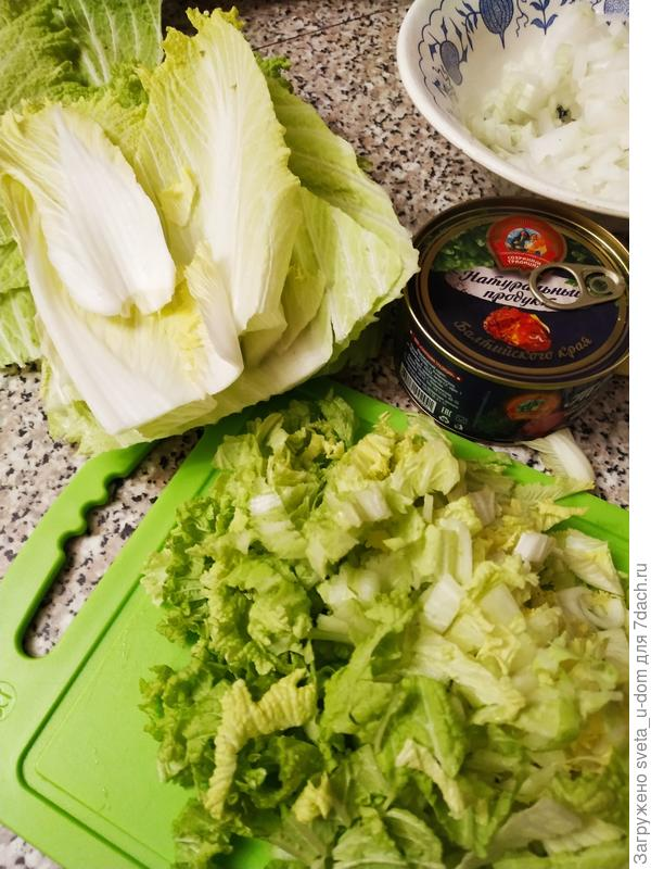 Салат с тунцом. Легкий и быстрый ужин - пошаговый рецепт приготовления с фото