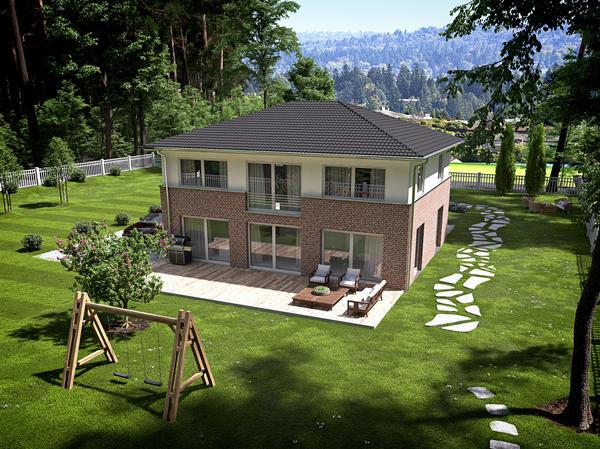 Дом для строительства на участке ИЖС