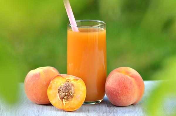 Персиковый сок — помощник печени