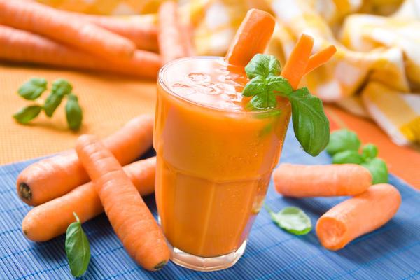 Морковный сок улучшает зрение