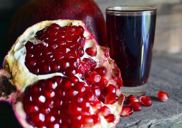 Гранатовый сок поможет противостоять стрессам
