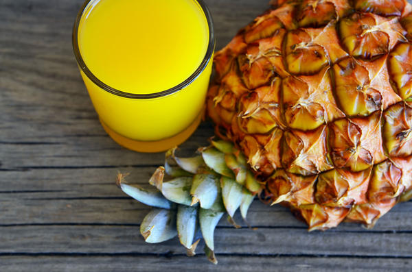 Сок ананаса сжигает жиры