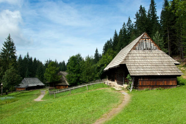 Традиционные деревянные крыши