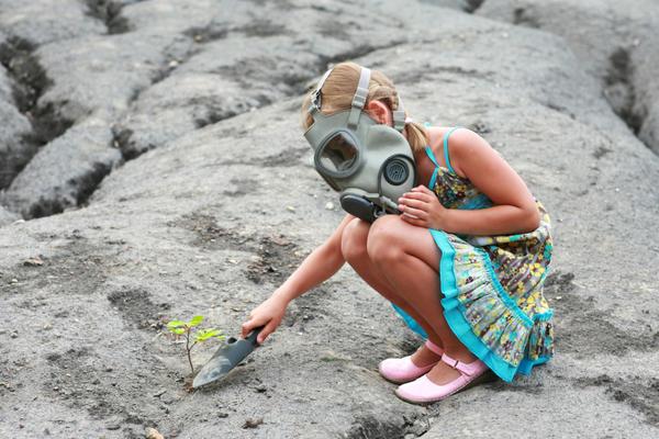 Дети наиболее уязвимы перед воздействием озона