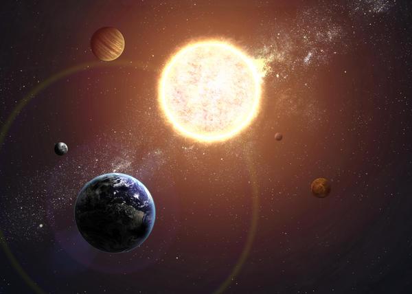 Смена времён года связана с периодом обращения Земли вокруг Солнца