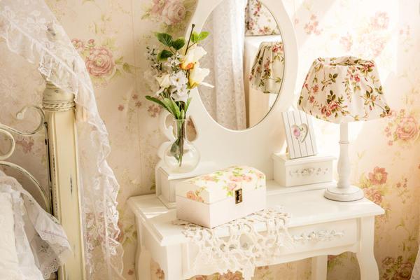 Краска на молоке - хорошее покрытие для мебели в стиле прованс