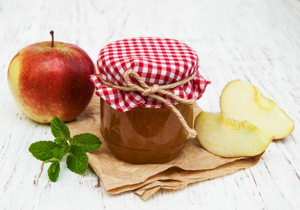 Мятное яблочное желе