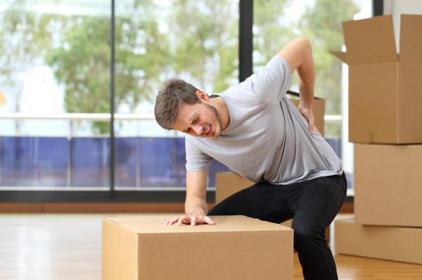 Физические нагрузки при боли в спине противопоказаны