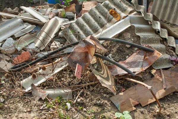 Строительный мусор может пригодиться на даче