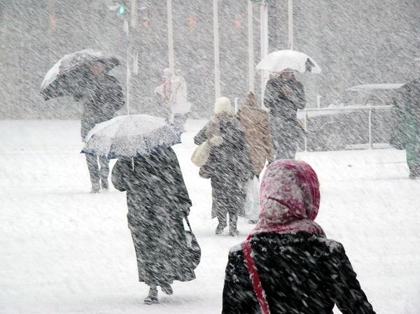 Европейцев ожидают холода и метели