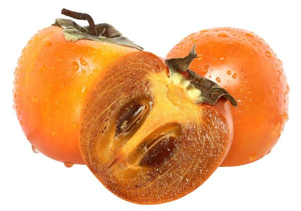 Плоды хурмы, содержащие семена, всегда вкуснее бессемянных