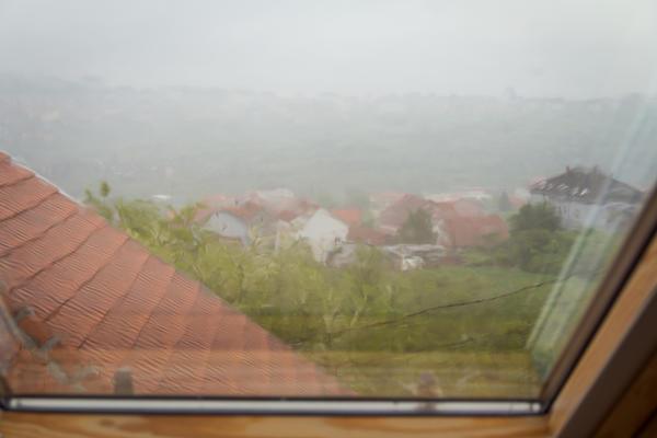 Мансардное окно должно открывать максимально широкий обзор