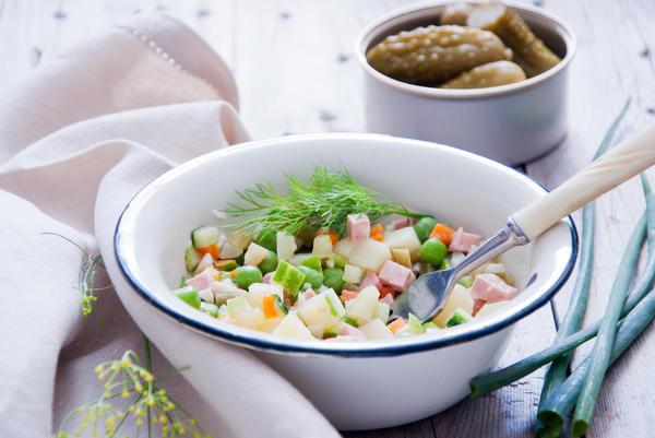 Наш салат оливье. Но речь не о нем…