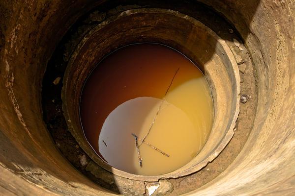 Не всегда вода в колодце чистая