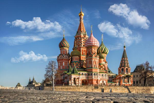Собор Василия Блаженного построен из 18 типов кирпича