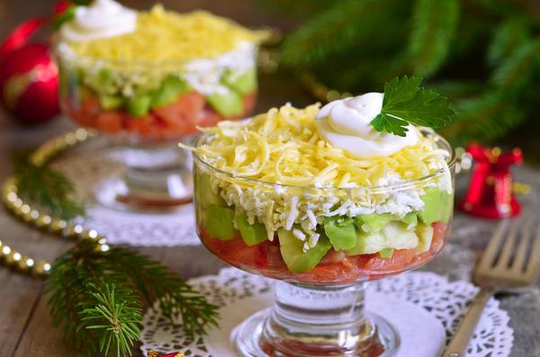 Вариации на тему закуски с авокадо