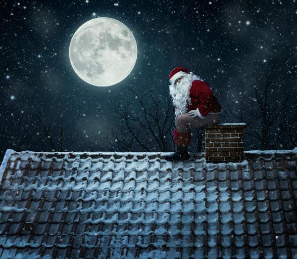 Дымоход котла - это не для Санта Клауса