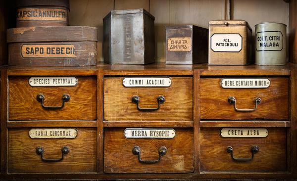 Архивные ящики