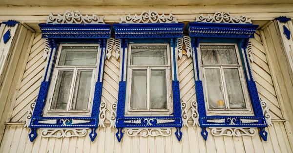 За свою историю окна претерпели незначительные изменения