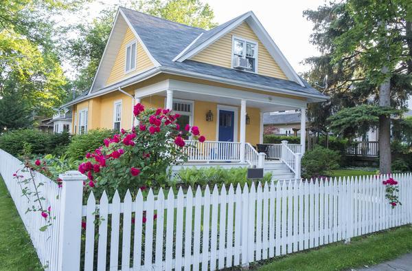 Ограждение - для создания законченного образа дома
