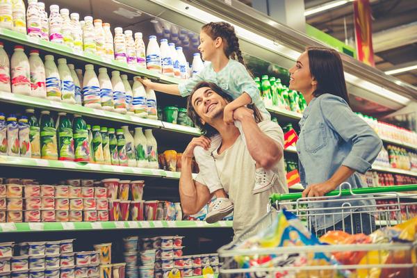 Большая часть молочных продуктов на полках магазинов может оказаться суррогатами