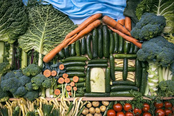 Овощной арт