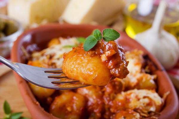 Картофельные ньокки напоминают  ленивые вареники