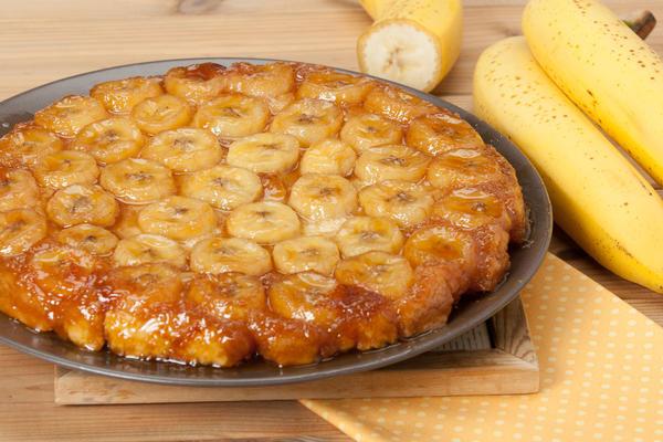 Банановый тарт Татен