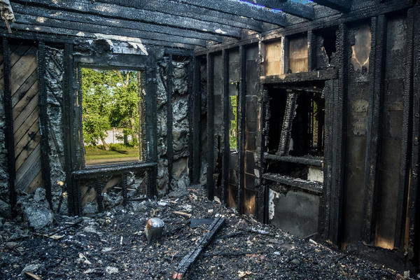 Каркасные дома имеют самую низкую степень огнестойкости