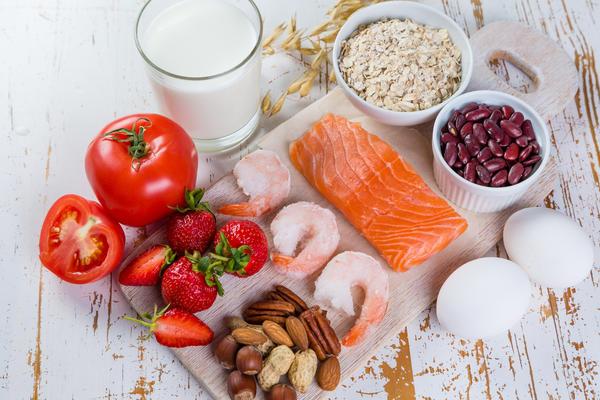 Многие продукты питания могут вызывать аллергическую реакцию