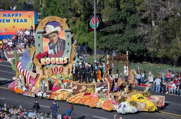 Парад роз в Пасадене. Фото  iStock.com/MarieAppert