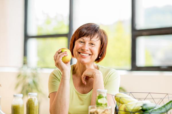 Включайте в меню больше овощей, фруктов и зелени