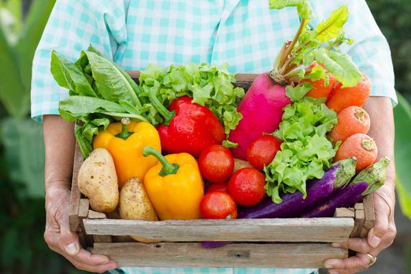 Растительная диета, в которой много фруктов и овощей - надежная гарантия здоровья