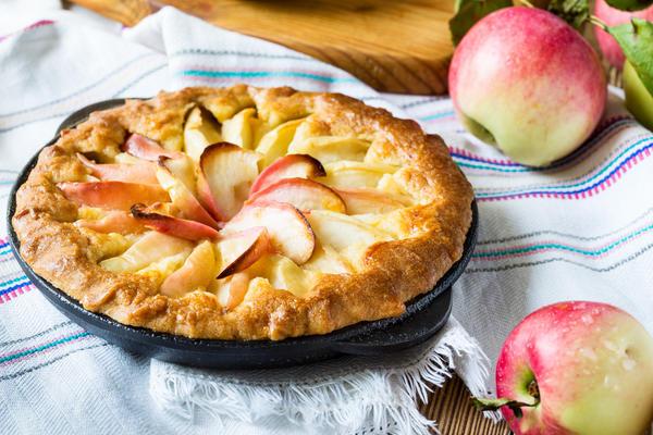 Август - время фруктовых пирогов
