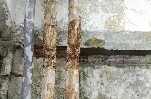 Водопроводные трубы, проходящие в погребе, могут стать причиной появления плесени