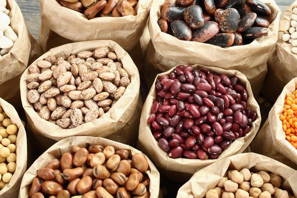Бобы - хороший источник белка. Как и другие продукты