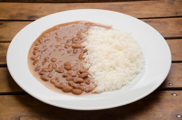Рис с фасолью - физиологически очень правильное сочетание