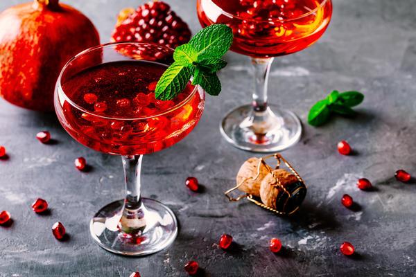 Коктейль Гранатовое шампанское
