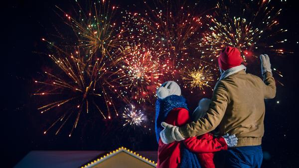 Какой Новый год без праздничного фейерверка?